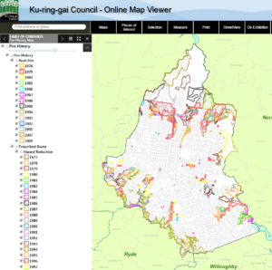 Online Map Viewer - Bushfire